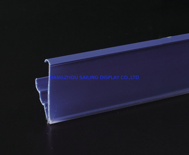 Promotional Plastic Recycling Shelf Data Strips , Magnet Sticked Accessory Tedarikçi